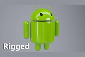 android model 3d android logo rigged cgtrader