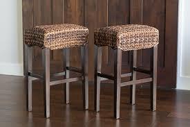 Seagrass Furniture Amazon Com Bird Rock Hand Woven Seagrass Backless Barstool Bar