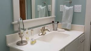discount bathroom countertops with sink how to clean a bathroom sink and countertop youtube