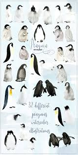 best 25 penguin watercolor ideas on pinterest cute penguins