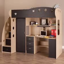 Function Bunk Bed With Desk And Couch Glamorous Bedroom Design - Kids bunk bed desk