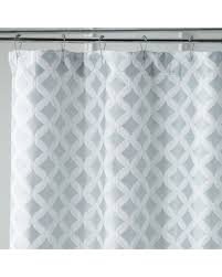 Shower Curtains For Glass Showers Deals On Links Geometric Seaglass Shower Curtain