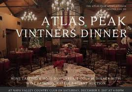 napa valley events concerts winery parties u0026 dinners