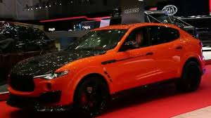 maserati red 2017 maserati levante mansory 2017 youtube