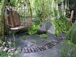 Gartengestaltung Mit Steinen Garten Mit Stein Deko Gartenn Com