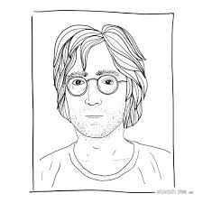 john lennon from andy warhol polaroids www sketchme es u2026 flickr
