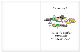 jumbo s day cards remember st s day st s day paper card