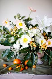 floral arrangements winter citrus floral arrangements from powell snippet ink