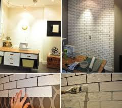 non permanent wall paper simple ways to recreate the look of real exposed brick walls