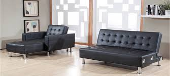 canapé convertible cuir noir canapé convertible noir simili cuir royal sofa idée de canapé et
