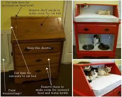 Dog Bed Nightstand Brilliant Pet Bed Diy Ideas With Tutorials