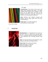 Drapery Fabric Characteristics Lm Household Services Grade 9 3rd And 4th Quarter