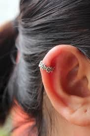 awesome cartilage earrings 60 amazing cartilage piercing and jewelry exles that you might