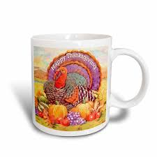 thanksgiving mug 3drose happy thanksgiving mug 11 ounce kitchen dining