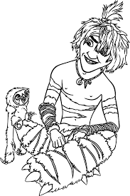 the croods coloring pages wecoloringpage pinterest summer
