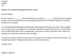 new branch opening invitation letter southernsoulblog com
