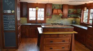 mission style kitchen cabinets kitchen craftsman design ideas with mission style tile also wood