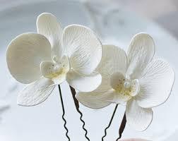 flower hair pins flower hair pin etsy