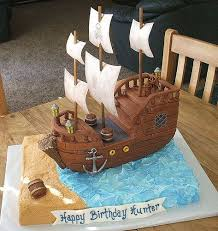 13 best bday cakes images on pinterest pirate ship cakes pirate