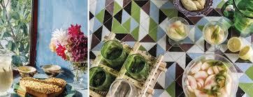 cuisine de provence design de tables zellige rémy de provence bosc architectes