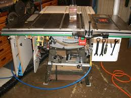 how to build a table saw workstation table saw workstation advice needed