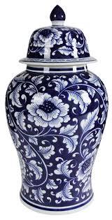 decorative urns alcott hill blue and white ceramic decorative urn reviews wayfair