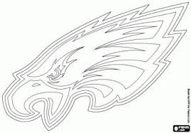 nfl team coloring pages our eagle in a coloring page eagle pride pinterest eagle and