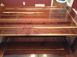 Farmhouse Table by Ana White Black Walnut Farmhouse Table Diy Projects