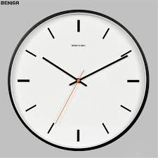 minimalist wall clock 14 inch modern minimalist wall clock advanced european artistic