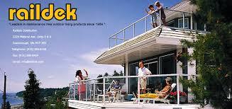 duradek raildek exterior outdoor vinyl flooring and aluminum