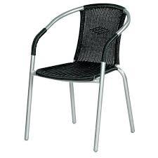 chaise bistrot alu chaise aluminium bistro chaise bistro en acier et aspect rotin