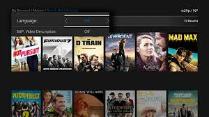 filter the on demand menu on x1