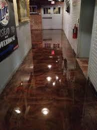 painting concrete floor with self leveling epoxy coating future
