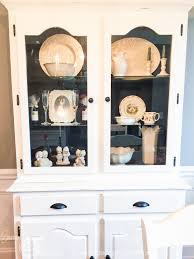 how to arrange a corner china cabinet how to style a farmhouse china cabinet with dunn pottery