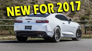 what is camaro 2016 2017 camaro what is the difference