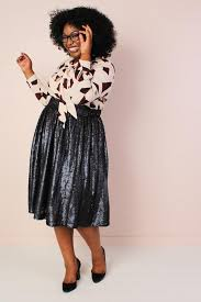 sequin skirt plus size sequin midi skirt blue society plus