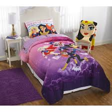 Girls Queen Comforter Dc Superhero Girls