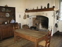 Carolina Country Kitchen - colonial kitchen veirling house old salem north carolina usa
