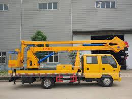 china isuzu 18m high aerial working platform vehicle