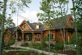 Two Story Craftsman Style House Plans by Garrell Associates Inc Tranquility House Plan 07430 Front