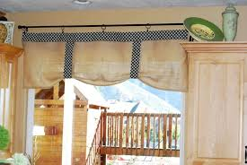 Country Kitchen Curtain Ideas Kitchen Country Style Stripes Kitchen Window Curtain Ideas With