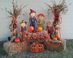 How To Decorate Your House For Fall - best 25 thanksgiving decorations outdoor ideas on pinterest