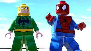 Iron Fist Halloween Costume Iron Fist Spiderman Battle Lego Marvel Super Heroes