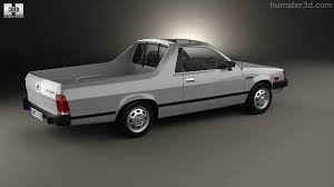 brat car 360 view of subaru brat 1981 3d model hum3d store