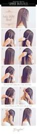 best 25 easy hair tutorials ideas on pinterest perfect bun