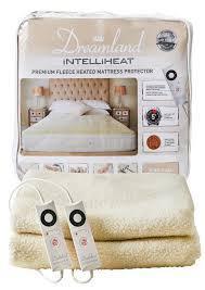 new intelliheat premium fleece heated mattress protector u2013 dreamland
