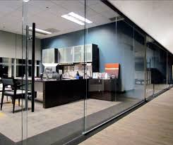 glass walls for office office front gl walls framed fixed gl gl