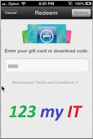 How To Redeem Itunes Gift Card On Iphone - how to redeem an itunes gift card on an iphone 123 my it