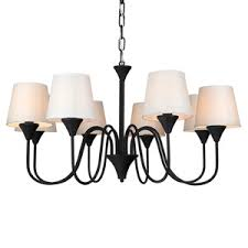Country Chandelier 8 Light Tifany Chandelier Art Baroque Style