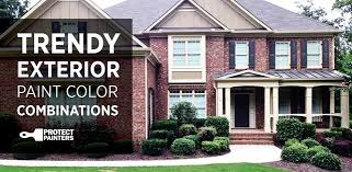 trendy exterior house paint combinations